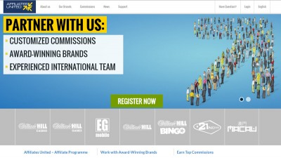 Affiliates United (WilliamHill affiliates)